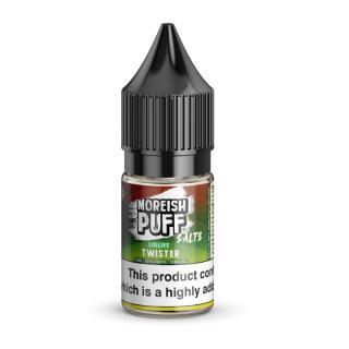 Moreish Puff Twister Lollies Nicotine Salt