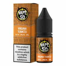 Virginia Tobacco Regular 10ml by Vape 50