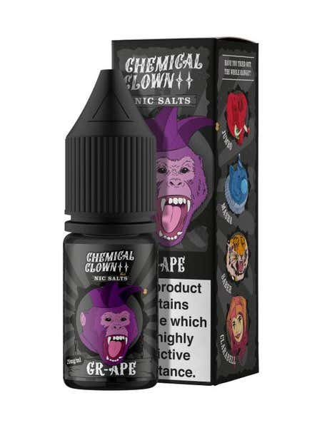 Gr Ape Nicotine Salt by Chemical Clown