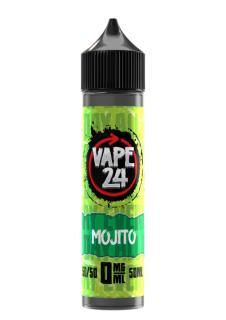 Vape 24 Mojito Shortfill