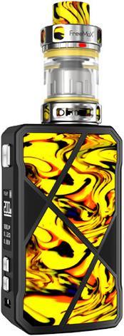 YellowZinc Alloy & Stainless Steel Maxus Vape Device by FreeMax