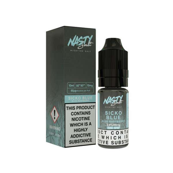 Sicko Blue Nicotine Salt by Nasty Juice