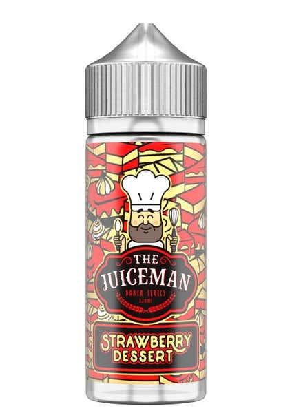 Strawberry Desert Shortfill by The Juiceman