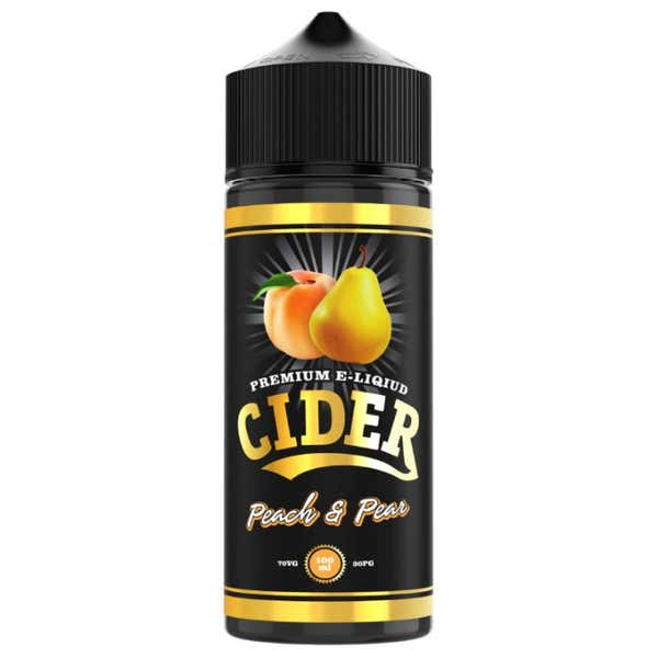 Peach & Pear Shortfill by Cider