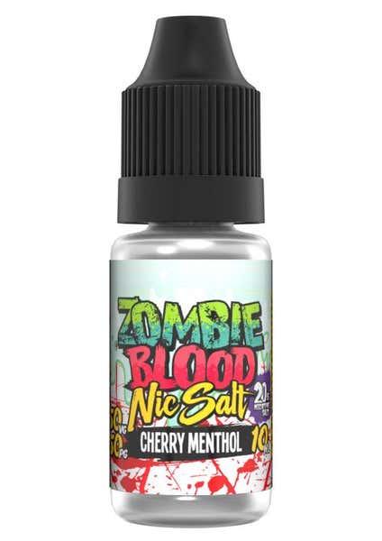 Cherry Menthol Nicotine Salt by Zombie Blood