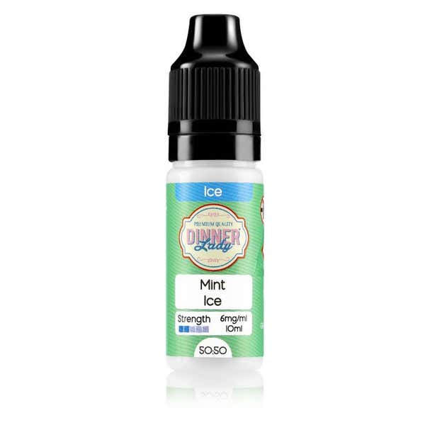 Mint Ice Regular 10ml by Dinner Lady