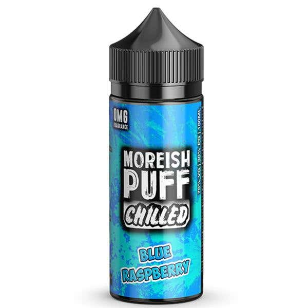 Blue Raspberry Chilled Shortfill by Moreish Puff