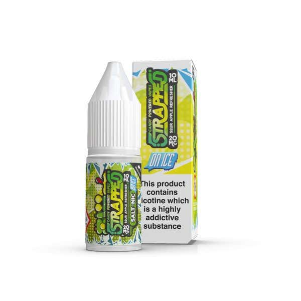 Sour Apple Refresher On Ice Nicotine Salt by Strapped