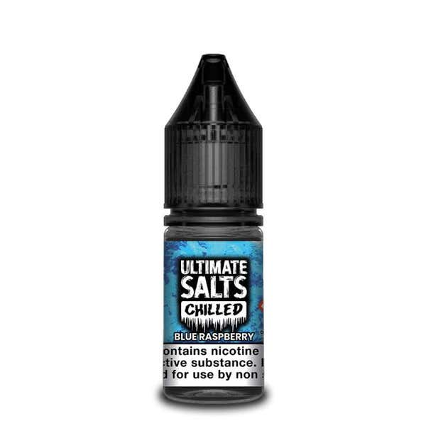 Chilled Blue Raspberry Nicotine Salt by Ultimate Puff