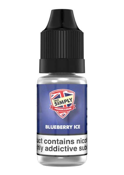 Blueberry Ice Regular 10ml by Vape Simply