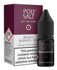 Mixed Berries Ice Nicotine Salt by Pod Salt