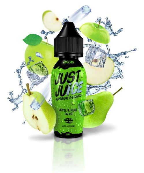 Apple & Pear On Ice Shortfill by Just Juice