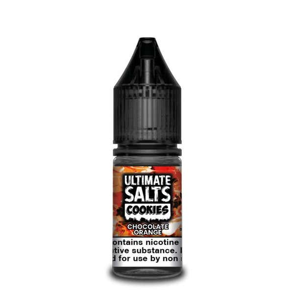 Cookies Chocolate Orange Nicotine Salt by Ultimate Puff
