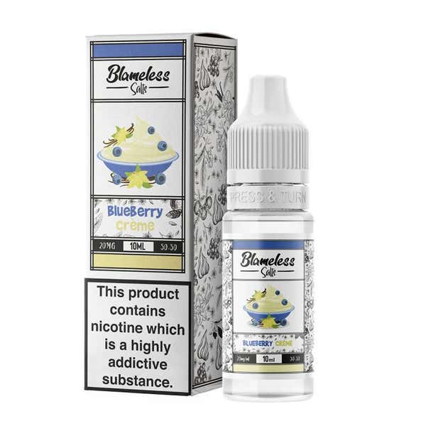 Blueberry Creme Nicotine Salt by Blameless Juice Co