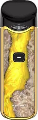 Wood YellowZinc Alloy NORD Vape Device by SMOK