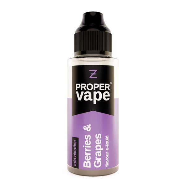 Berries & Grapes Shortfill by Proper Vape