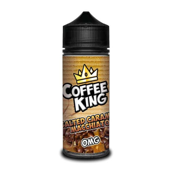 Salted Caramel Macchiato Shortfill by Coffee King