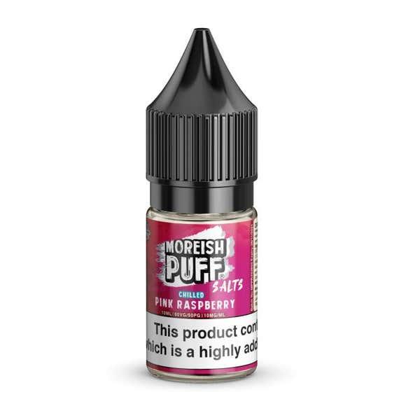 Pink Raspberry Chilled Nicotine Salt by Moreish Puff