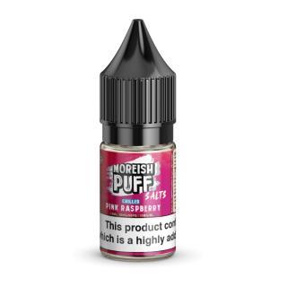 Moreish Puff Pink Raspberry Chilled Nicotine Salt