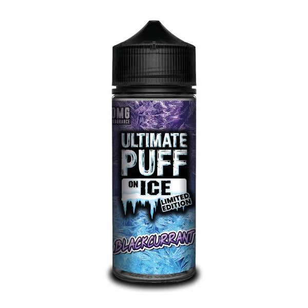 On Ice Blackcurrant Shortfill by Ultimate Puff
