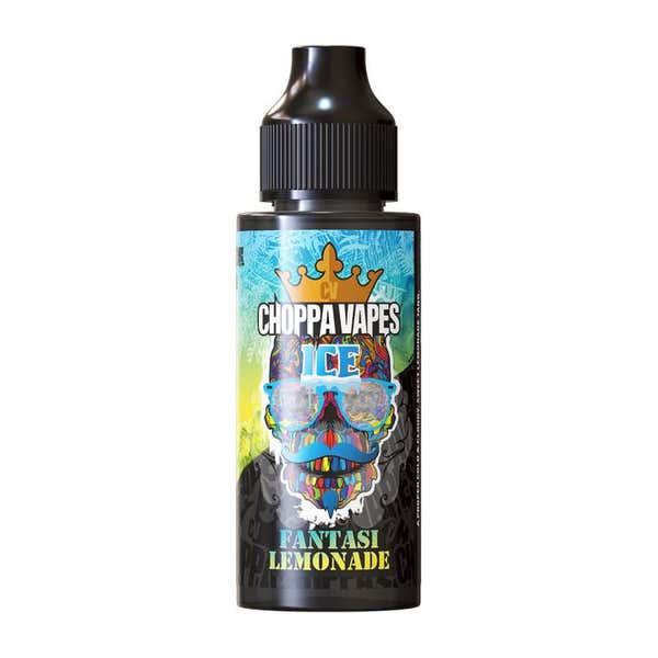 Fantasi Lemonade Ice Shortfill by Choppa Vapes
