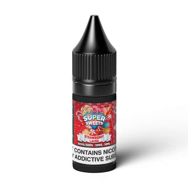 Strawberry Laces Nicotine Salt by Super Sweets