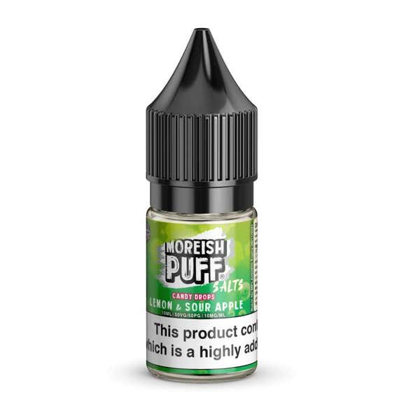 Lemon & Sour Apple Candy Drops Nicotine Salt by Moreish Puff