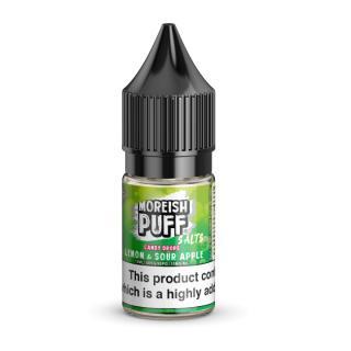 Moreish Puff Lemon & Sour Apple Candy Drops Nicotine Salt