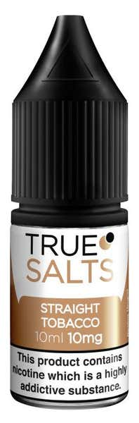 Straight Tobacco Nicotine Salt by True Salts