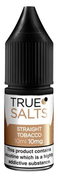Straight Tobacco Nicotine Salt by True Salts