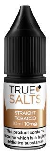 True Salts Straight Tobacco Nicotine Salt