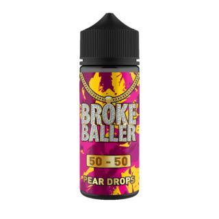 Broke Baller Pear Drops Shortfill