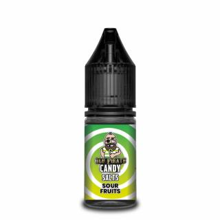 Old Pirate Candy SALTS Sour Fruits Nicotine Salt