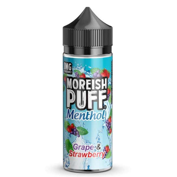 Grape & Strawberry Menthol Shortfill by Moreish Puff