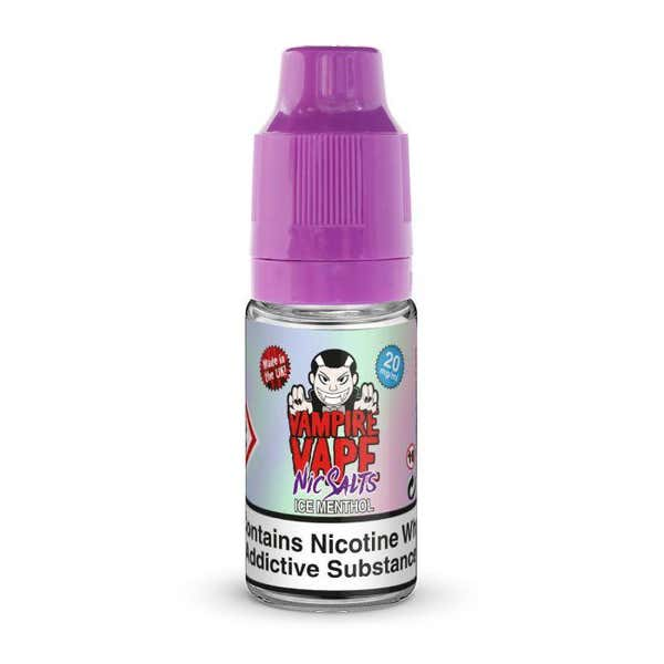 Ice Menthol Nicotine Salt by Vampire Vape