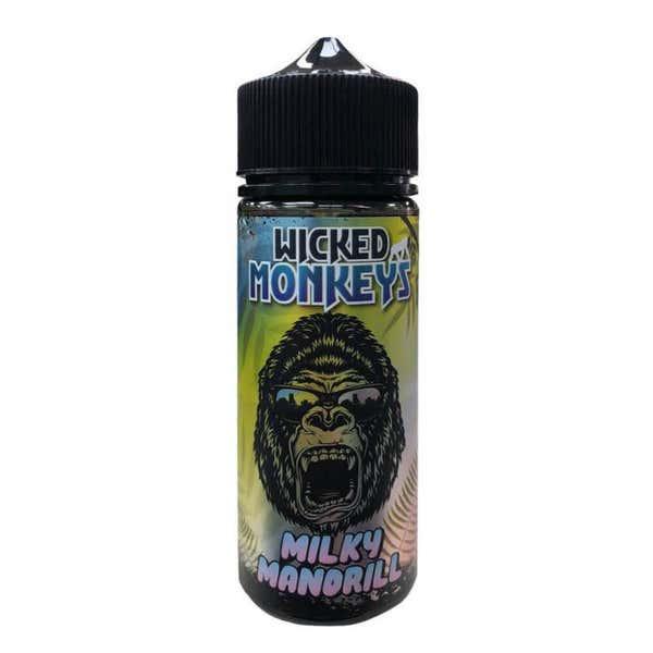 Milky Mandrill Shortfill by Wicked Monkey