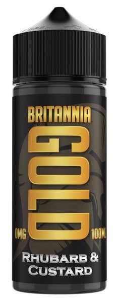 Rhubarb & Custard Shortfill by Britannia Gold