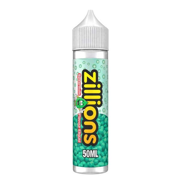 Spearmint Shortfill by Zillions