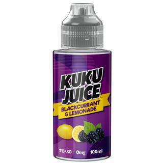 Kuku Blackcurrant Lemonade Shortfill