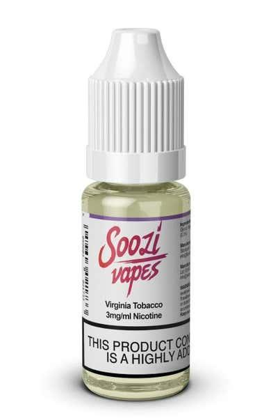 Virginia Tobacco Regular 10ml by Soozi Vapes