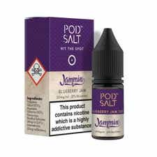 Blueberry Jam Tart Nicotine Salt by Pod Salt