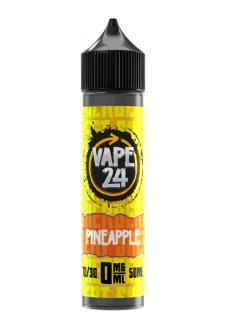 Vape 24 Sherbet Pineapple Shortfill